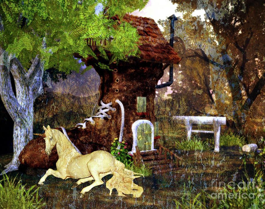 Fairy Retreat Digital Art