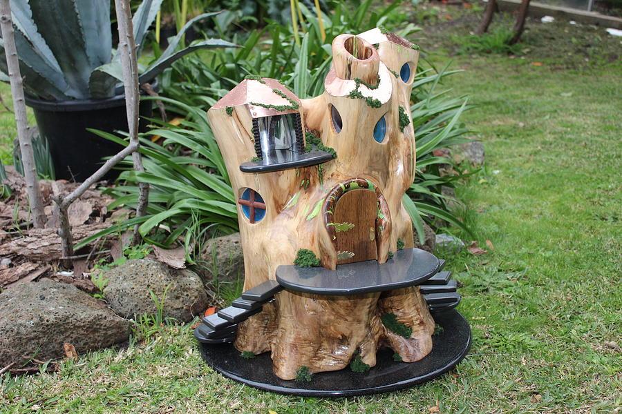 Fairy Sculpture - Fairy Tree by Lionel Larkin