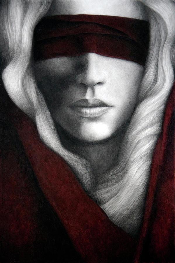 Woman Painting - Faith by Pat Erickson