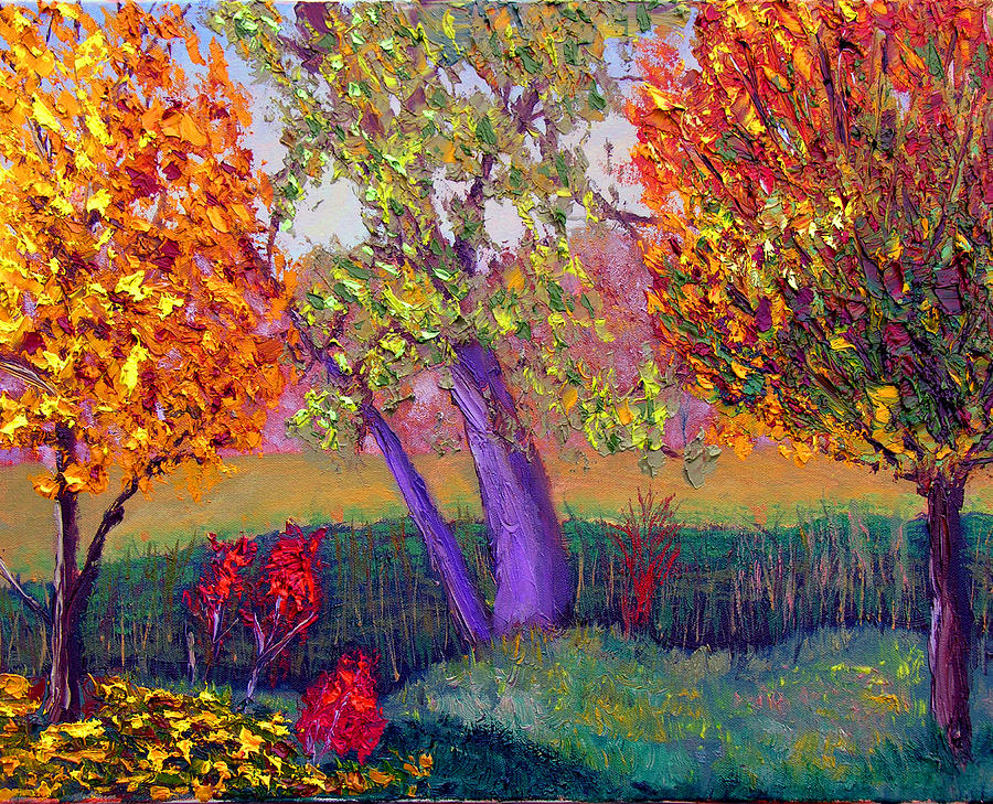 Fall Colors Painting By Stan Hamilton