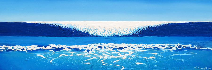 Ocean Painting - Falling Sea by Jaison Cianelli