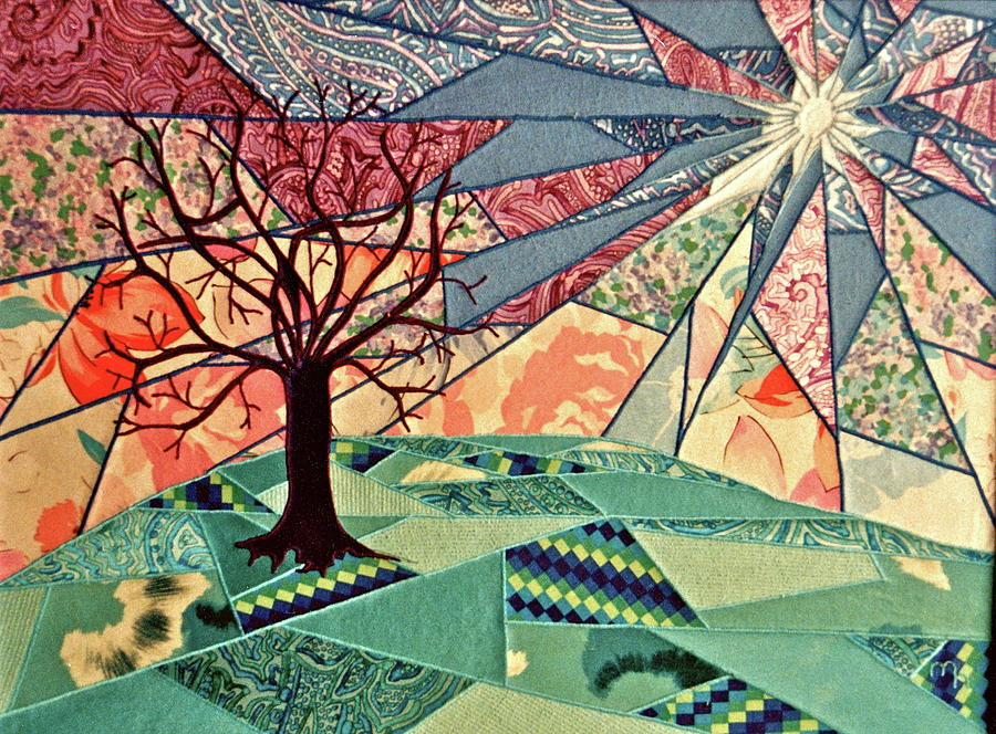 Tree Relief - Fantasia by Marie Halter