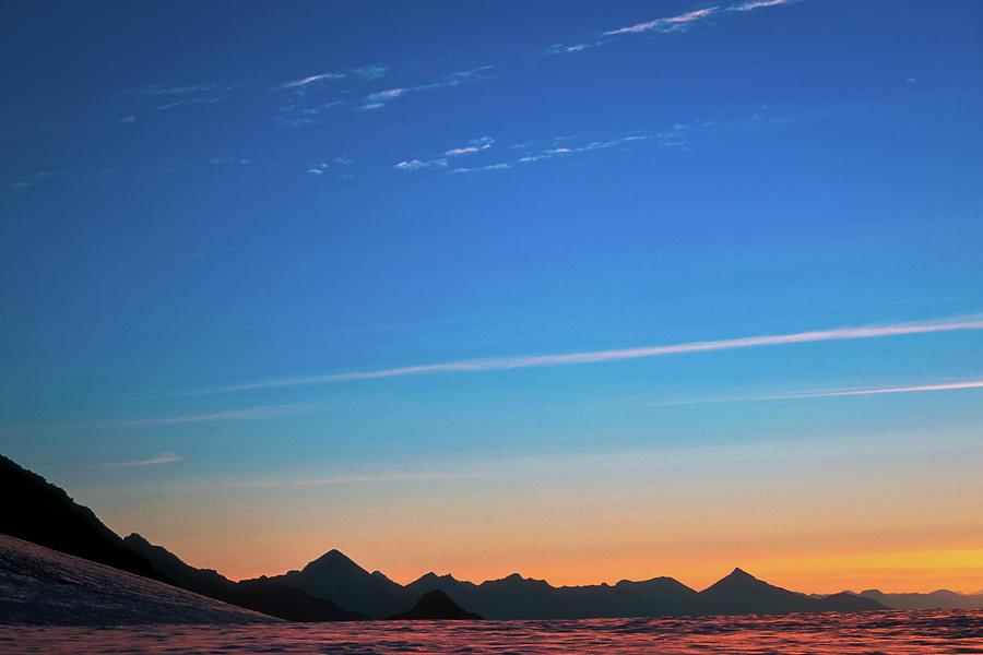 Alone Photograph - Far Mountains by Konstantin Dikovsky