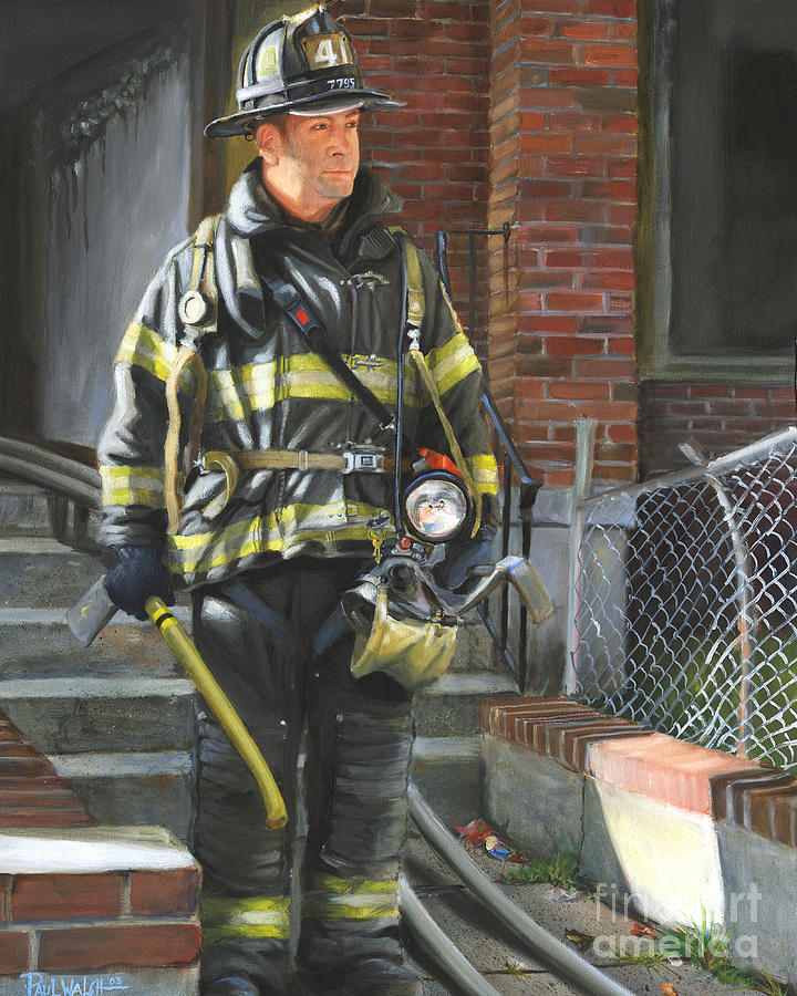 Bill Walsh (firefighter) Fdny Squad Firefighter