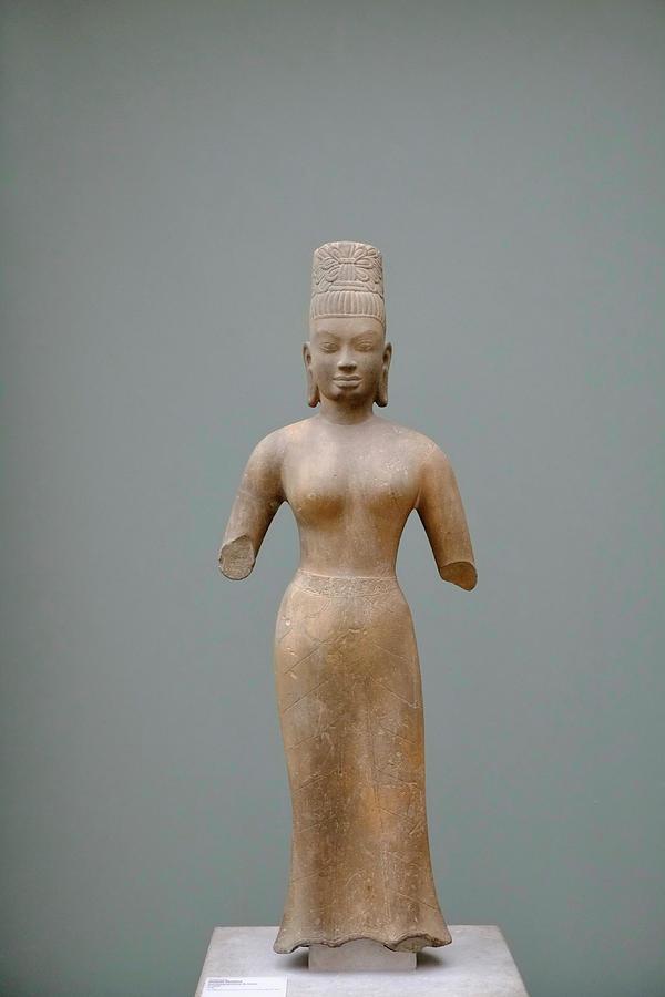 Female Figure Cambodia Photograph