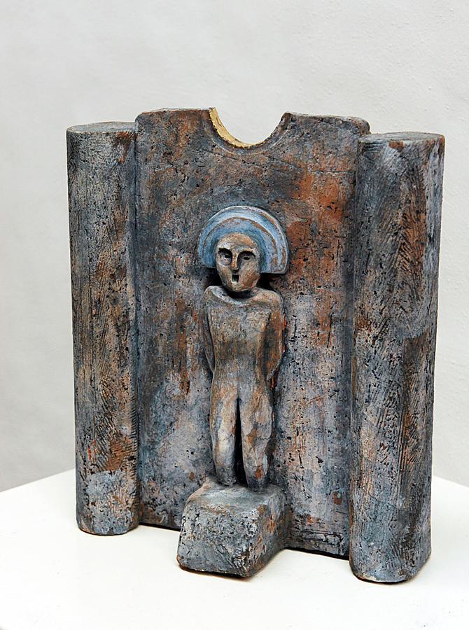 Female Figurine - Goddess Worship - Matrone - Matrones -matronen - Matrona - Diosa-nettersheim Eifel Sculpture