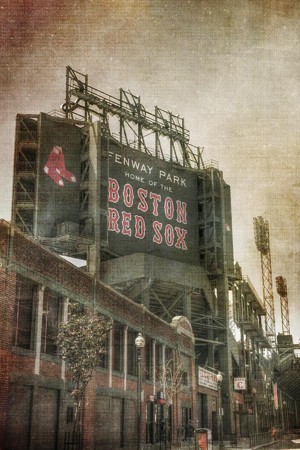 Fenway Park Billboard Boston Red Sox Photograph By Joann