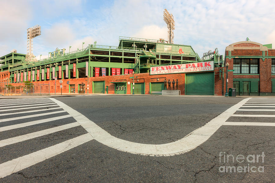 Clarence Holmes Photograph - Fenway Park IIi by Clarence Holmes