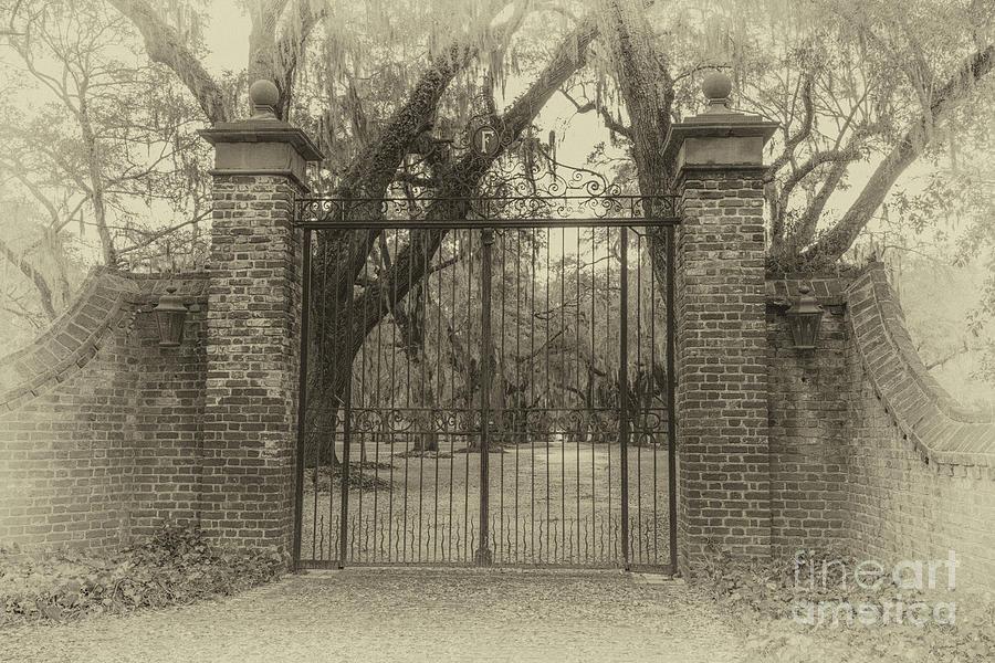 Fenwick Hall Main Entrance Photograph