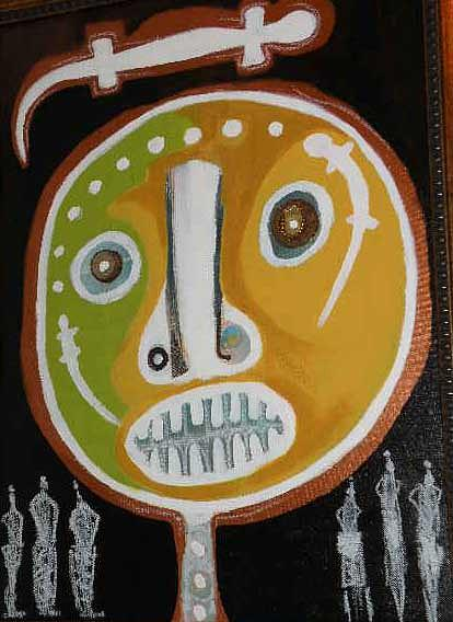 Fertility Mask Painting