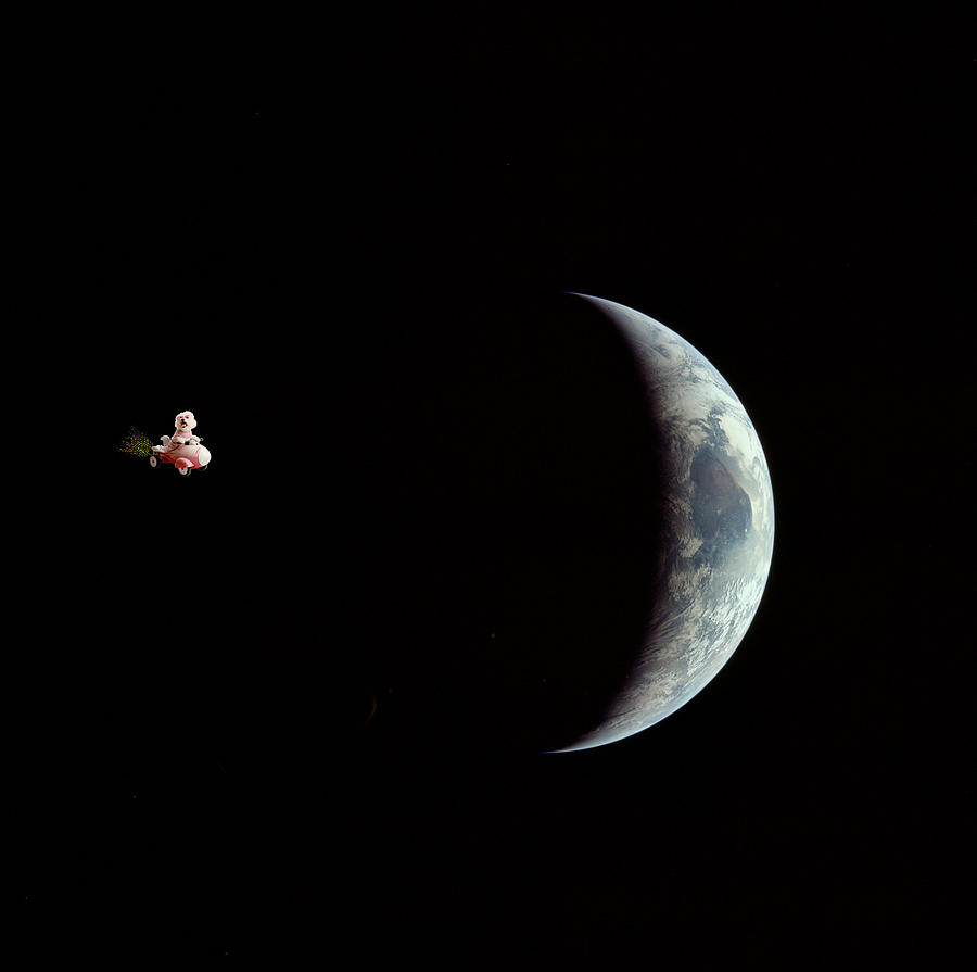 Fifi In Space Photograph