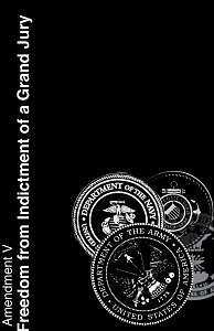 Amendments Digital Art - Fifth Amendmnet by Tony Zupancic