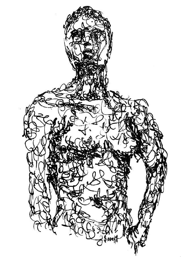 Figure Drawing - Figure by Sam Sidders