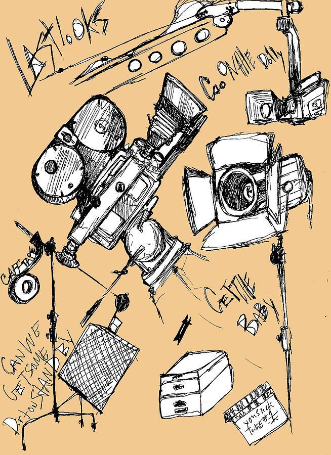 Cameras Mixed Media - Film Set by Michael De Alba