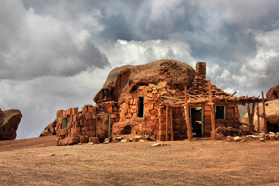 Rock House Photograph - Finally We Found A New Home by Christine Till