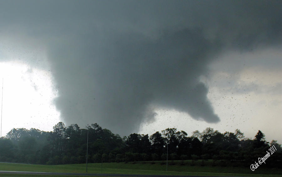 Tornado Photograph - Finger Of God by Rick Lipscomb