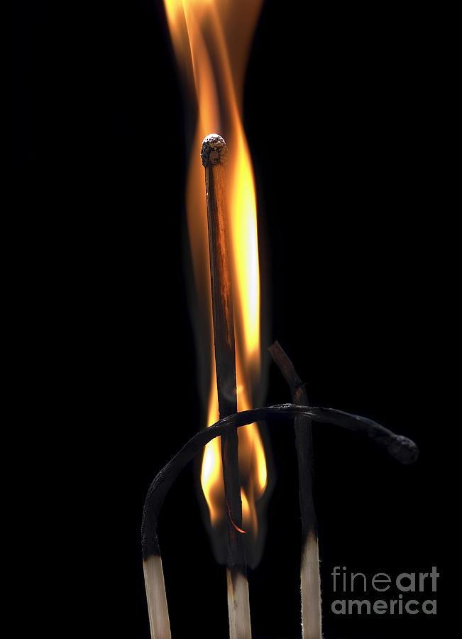 Fire Match Photograph