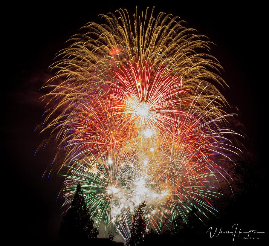Fireworks - 1631,s Photograph