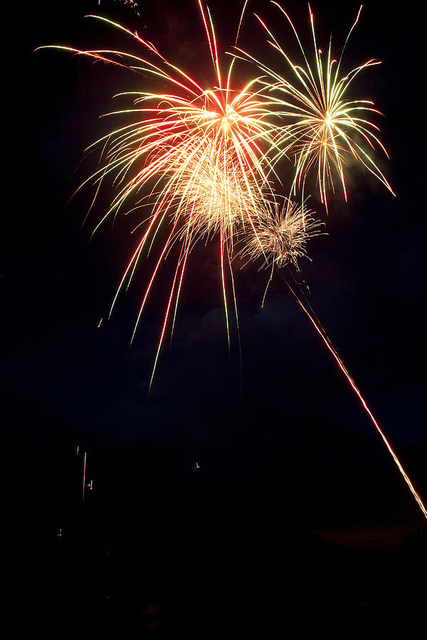 Fireworks Photograph - Fireworks 49 by James BO  Insogna