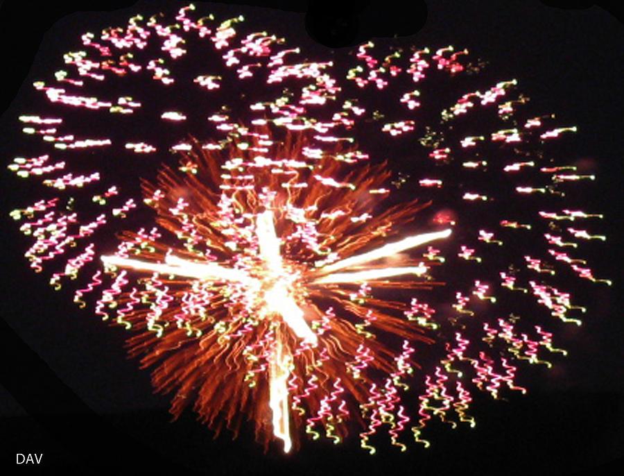 Fireworks Fun Photograph