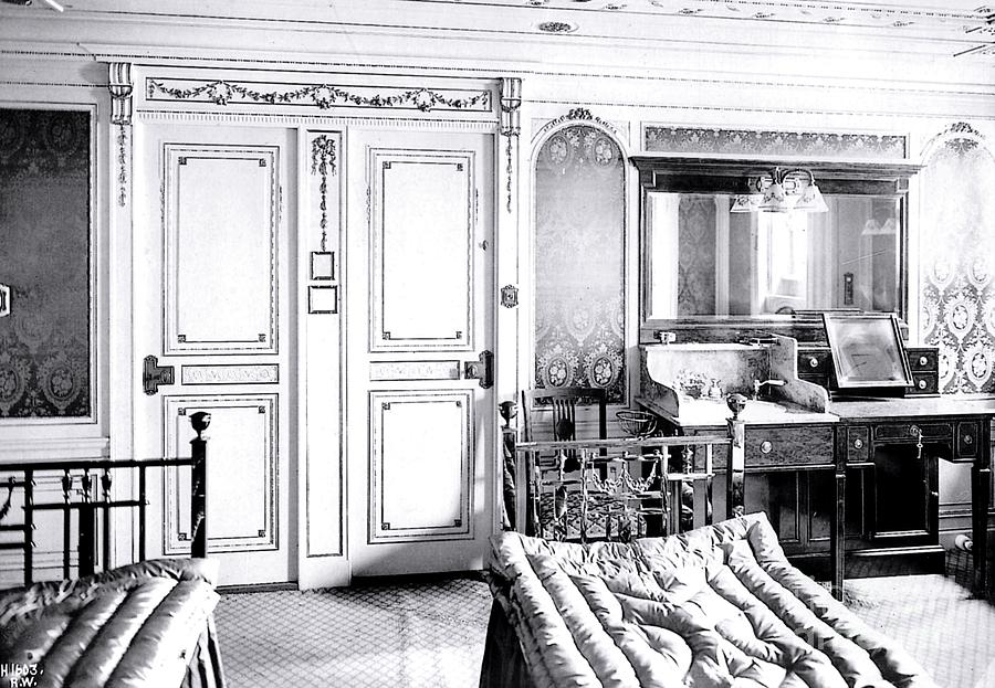 First Class Stateroom C65 On Titanic Photograph By The Titanic Project