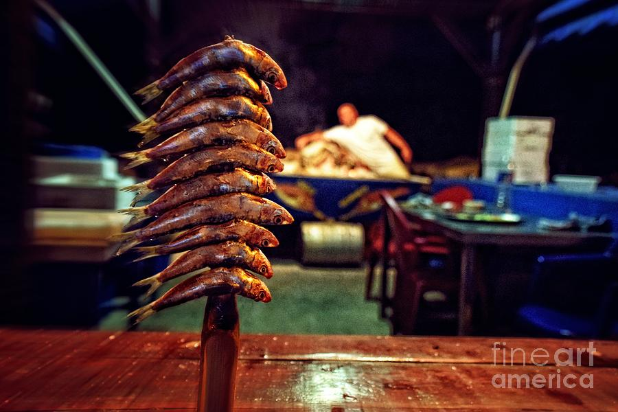 Fish on a stick east malaga photograph by mary machare for Fish on a stick