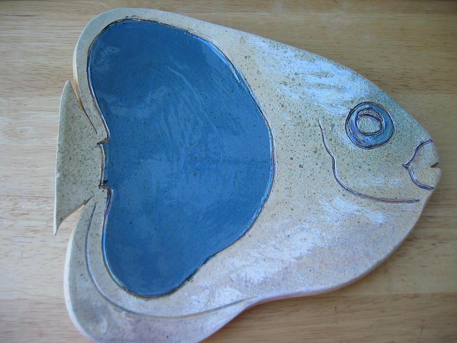Fish Platter Ceramic Art - Fish Platter by Julia Van Dine
