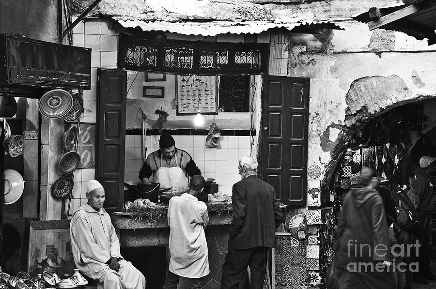 Marrakesh Photograph - Fish Shop by Marion Galt