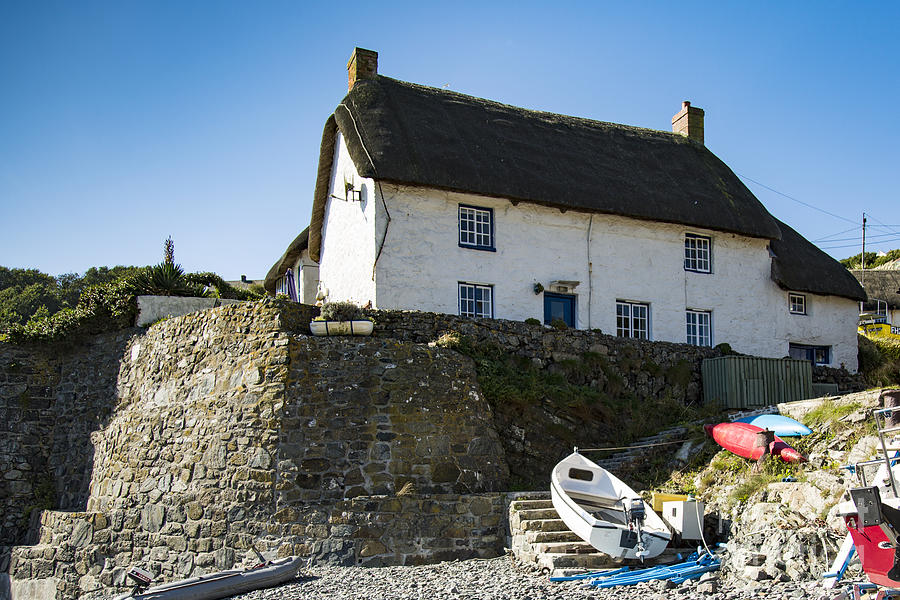Fishermans cottage by brian roscorla royalty free and rights managed licenses - The fishermans cottage ...