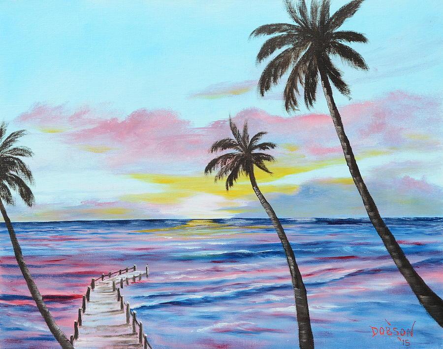 Fishing Pier Sunset