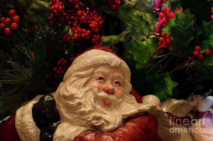 Fitz And Floyd Santa Photograph