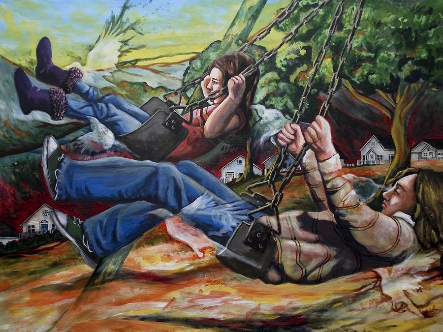 Fledglings Painting