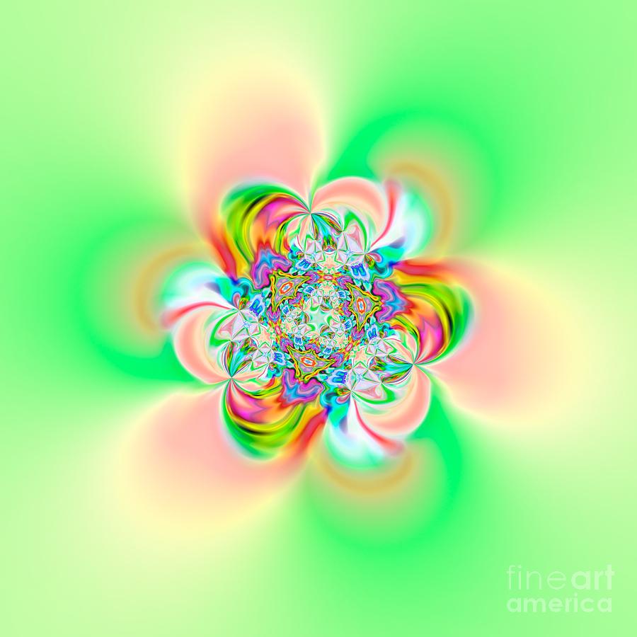 Abstract Digital Art - Flexibility 39e2 by Rolf Bertram
