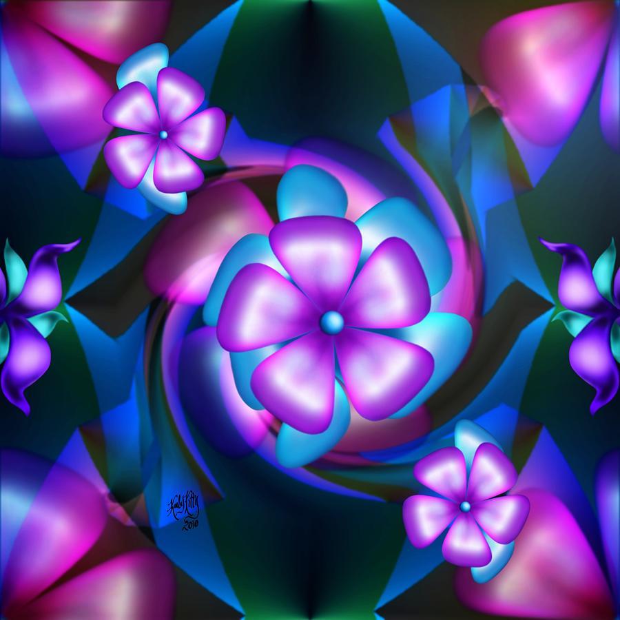 flower digital art - photo #27