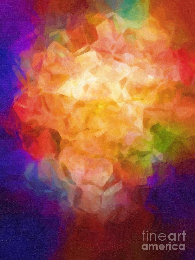 Flowerpot Painting - Flowerpot by Lutz Baar