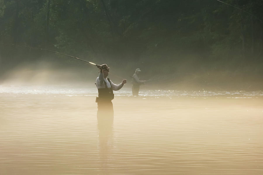 Fly Fishing  Photograph