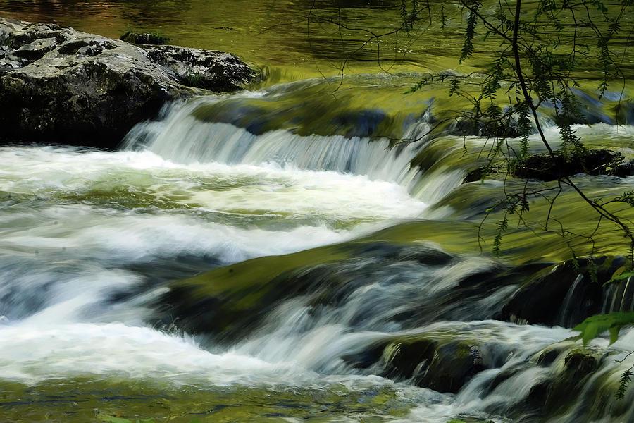 Foaming Cascades Photograph