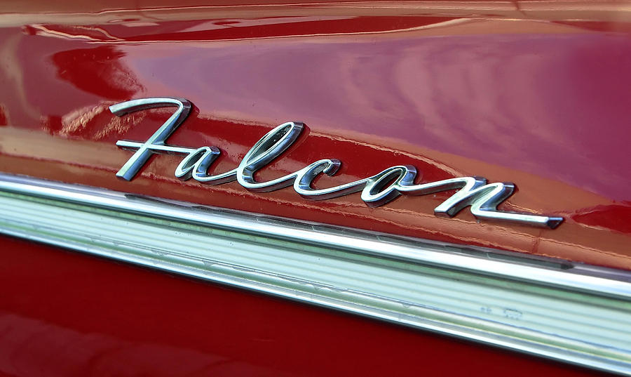 Fine Art Photography Photograph - Ford Falcon by David Lee Thompson