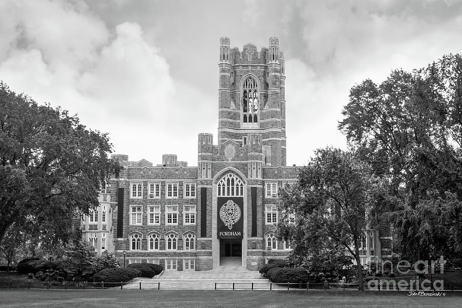 Fordham Photograph - Fordham University Keating Hall by University Icons