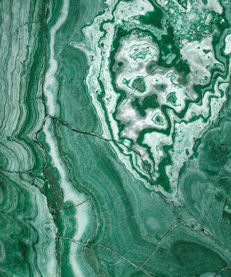 Forest Green Marble : Forest green marble photograph by the quarry