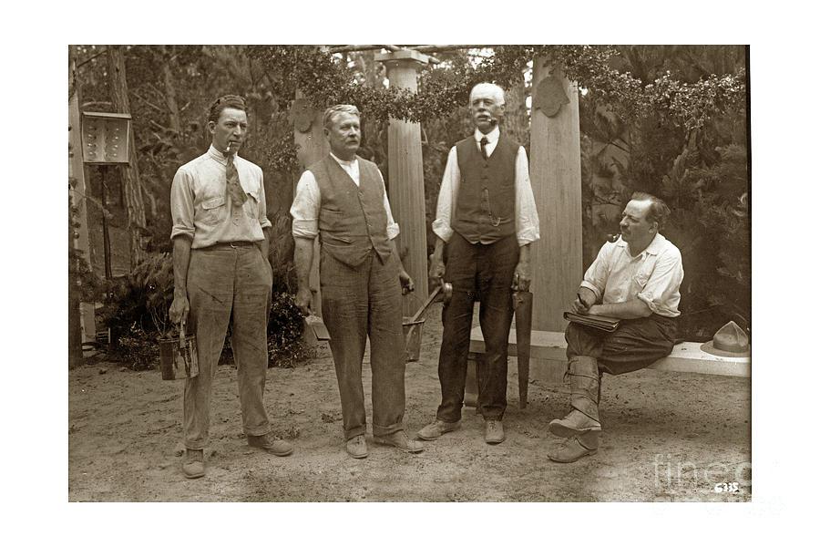 Forest Theater, George Seideneck, Arthur Vachell, Photograph