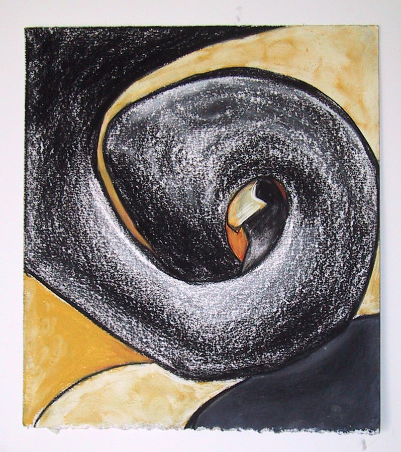 Abstract Drawing - Forever IIi by Carol Reed