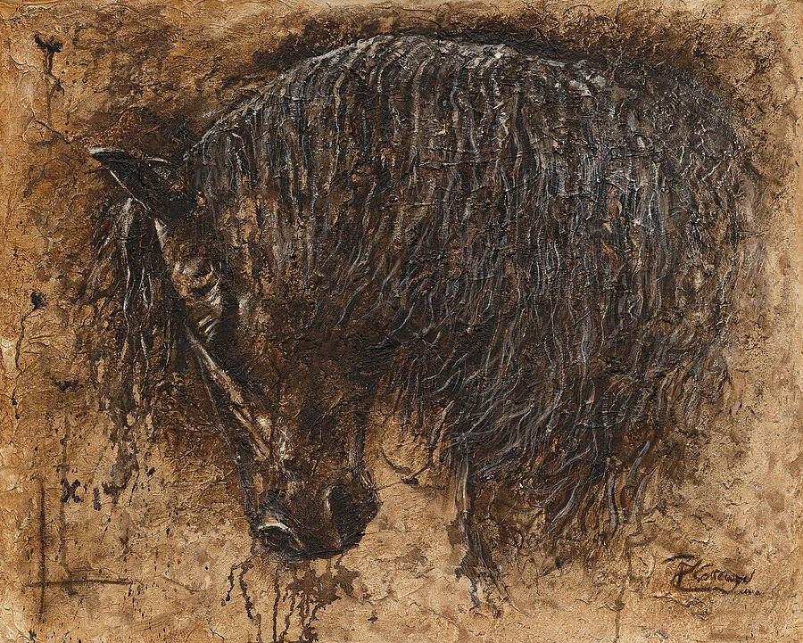Prints Painting - Forgiven by Paula Collewijn -  The Art of Horses