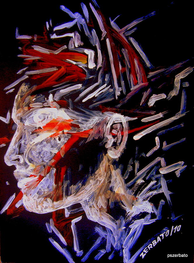 Face Digital Art - Forming Opinions by Paulo Zerbato