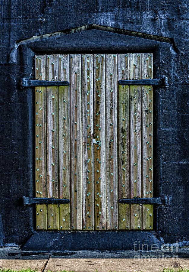 Fort Moultrie Sc Battery Jasper Door Photograph