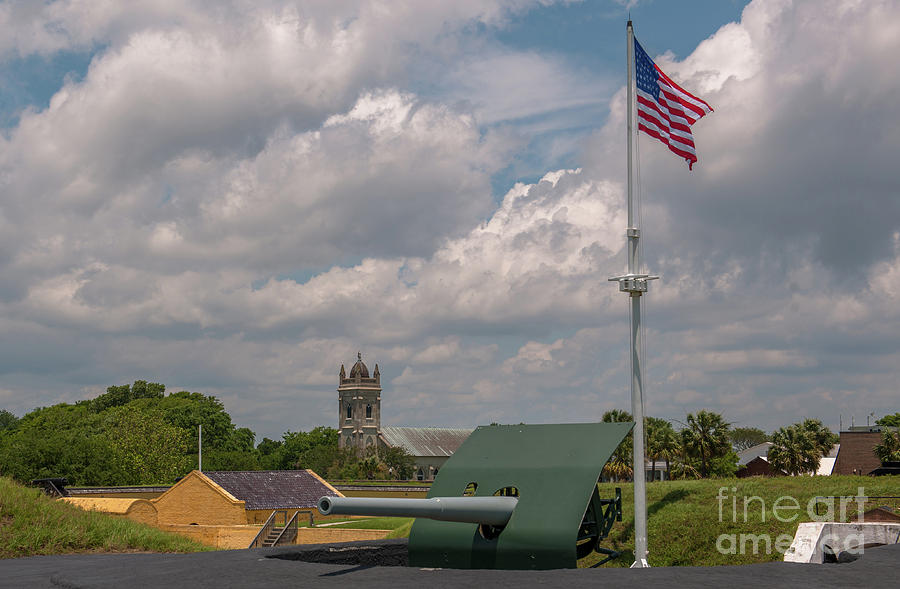 Fort Moultrie Usa Photograph