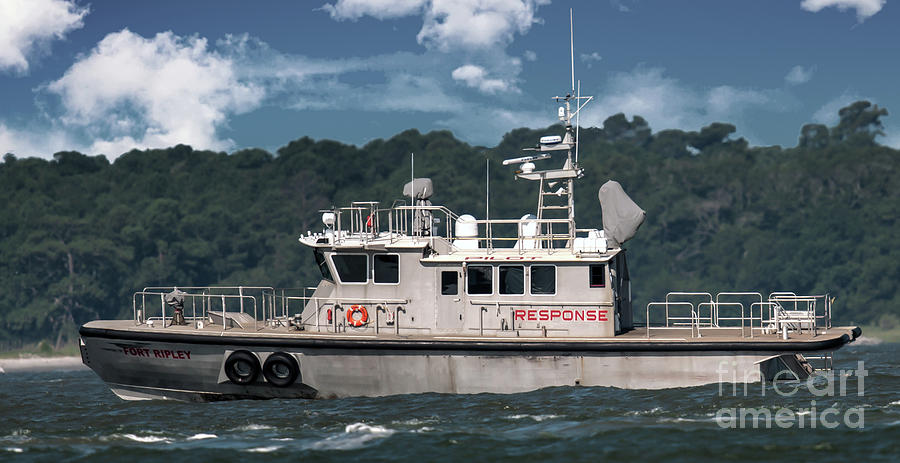 Fort Ripley Pilot Boat Photograph