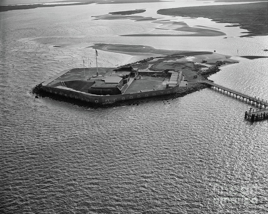 Fort Sumter Aerial Photograph