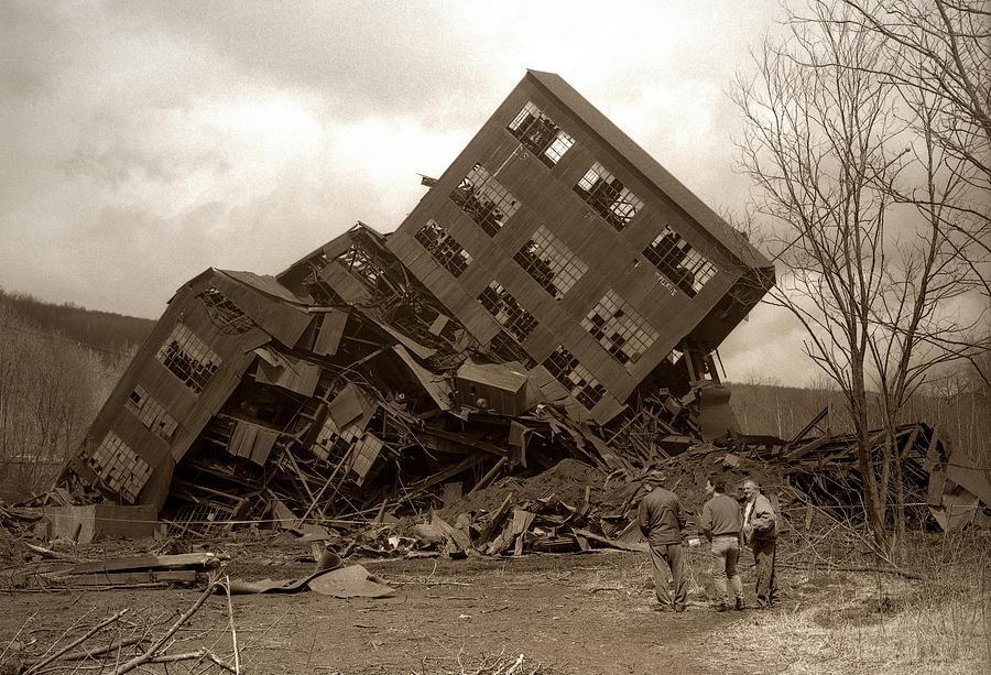 Four Photograph - Four Old Friends...swoyersville Pa by Arthur Miller