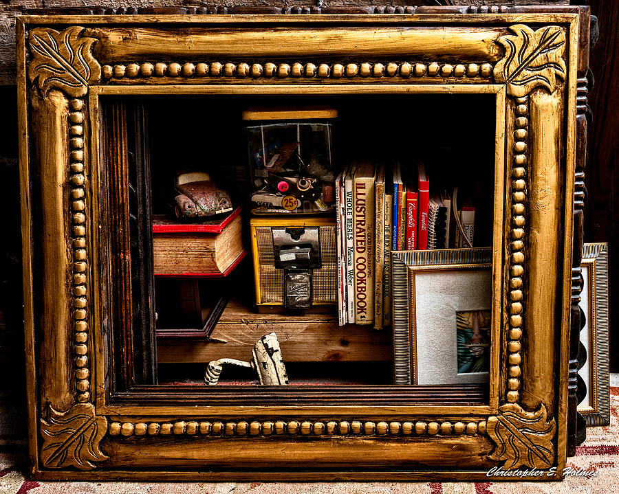 Framed Odds And Ends Photograph